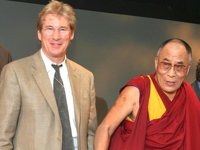 Далай-ламу актер считал не только учителем, но и другом | Фото: teleprogramma.pro