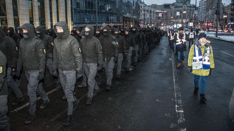Нацистский переворот в Киеве…