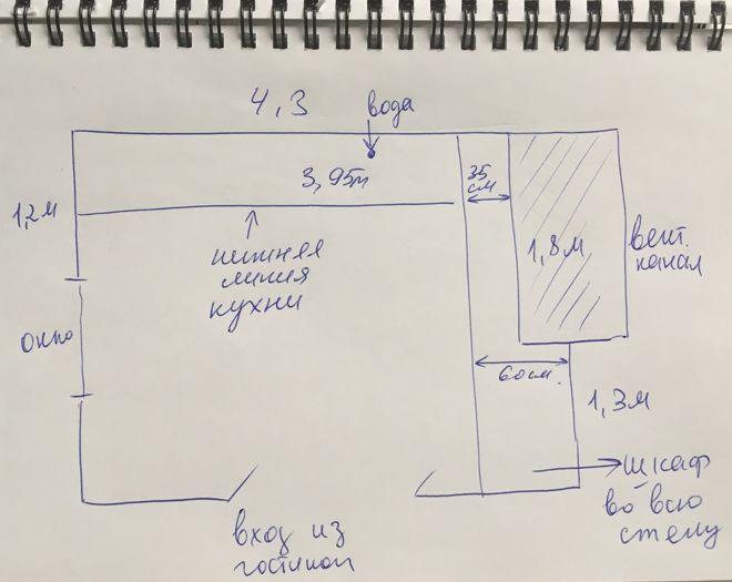 Планировка: Как купить кухню, если денег нет и надо въезжать
