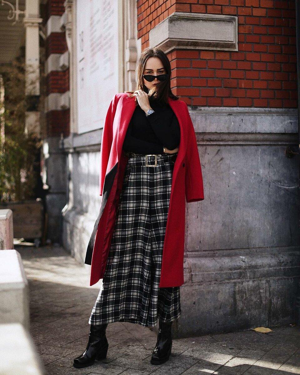 С чем носить утепленные юбки, чтобы быть в тренде