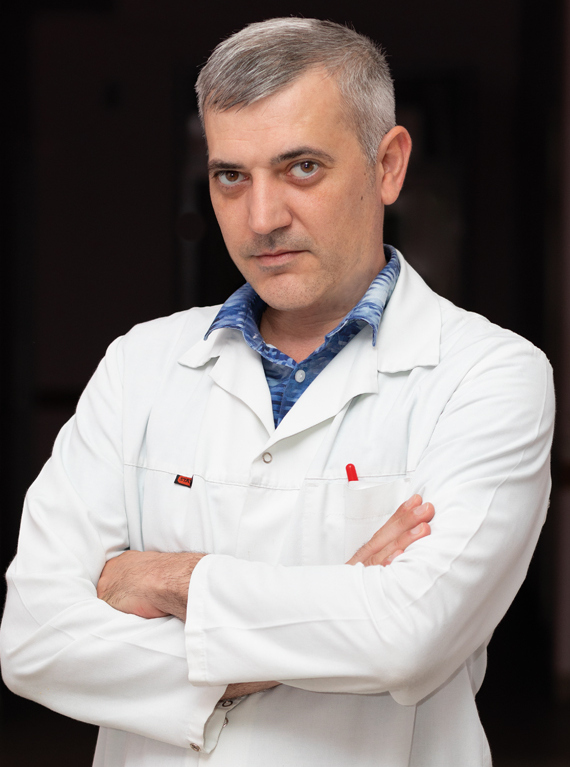 Андрей Цыбырнэ: Рак щитовидной железы