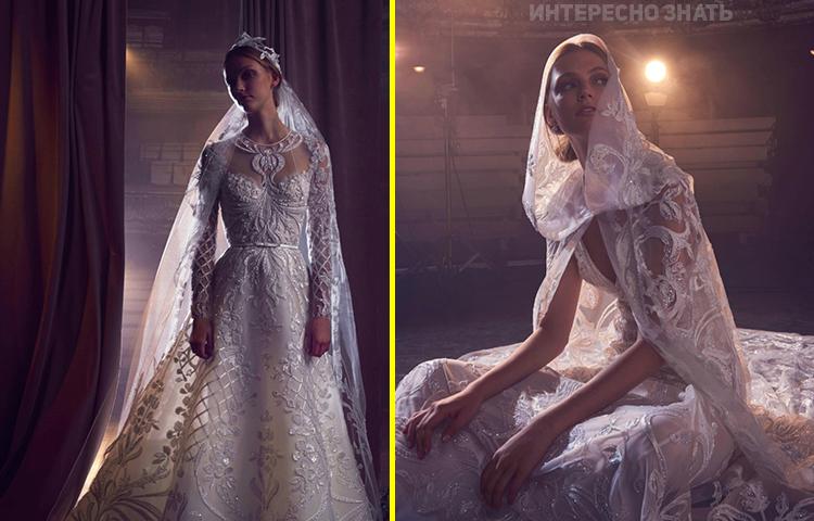 Нежная коллекция свадебных нарядов от Elie Saab — о таком мечтает каждая девушка