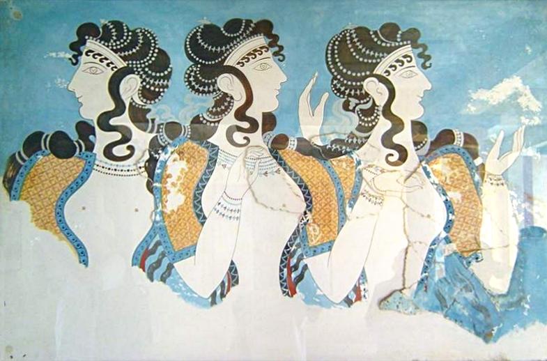 Минойская цивилизация - культура, архитектура, искусство