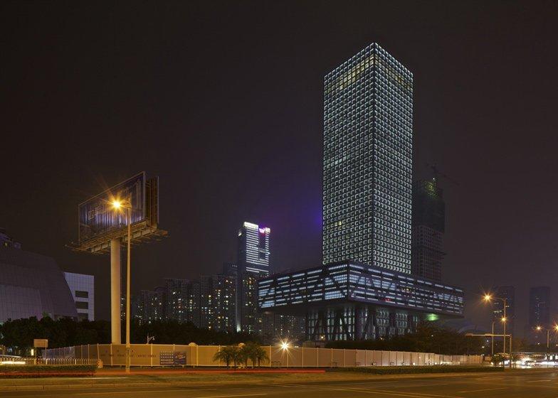 Биржа Шэньчжэня, Шэньчжэнь, Китай красота, небоскребы, самый-самый, строительство, удивительное, фантастика