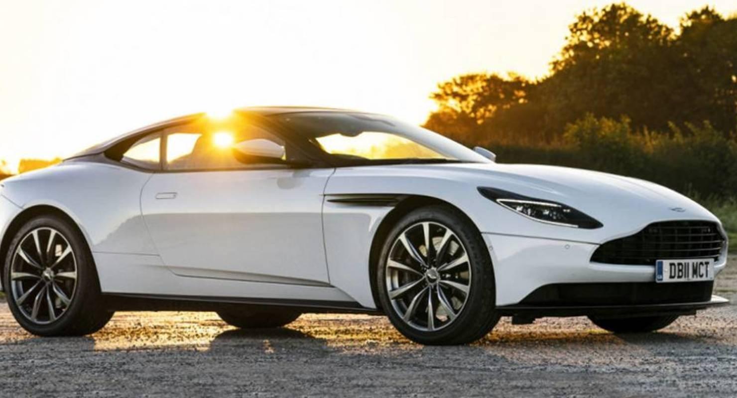 Aston Martin DB11 с двигателем AMG стал мощнее Автомобили