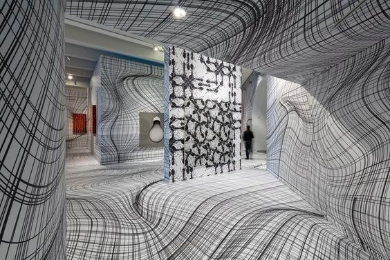 Идеи для психоделических помещений, которые сломают вам мозг инсталляции, искусство, психоделика, сломай мозг, странное, художники
