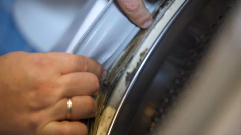 Запах в стиральной машинке — явный признак, что её пора чистить лайфхак,своими руками,сделай сам,стиральная машина