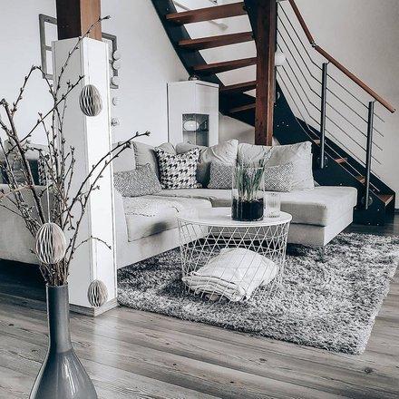 Если наскучил стандартный скандинавский стиль: 5 интерьеров в стиле сканди-шик идеи для дома,интерьер и дизайн