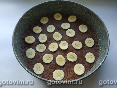 Банановый чизкейк без выпечки, Шаг 06
