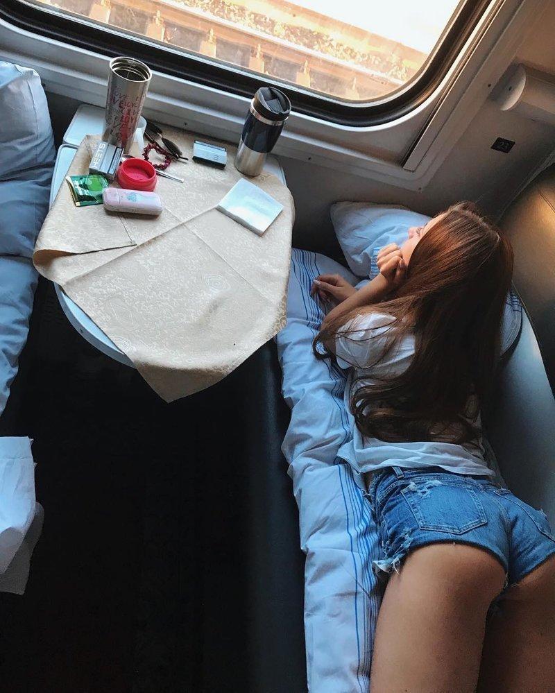срезку, фото спящих в купе всевозможных экзотических