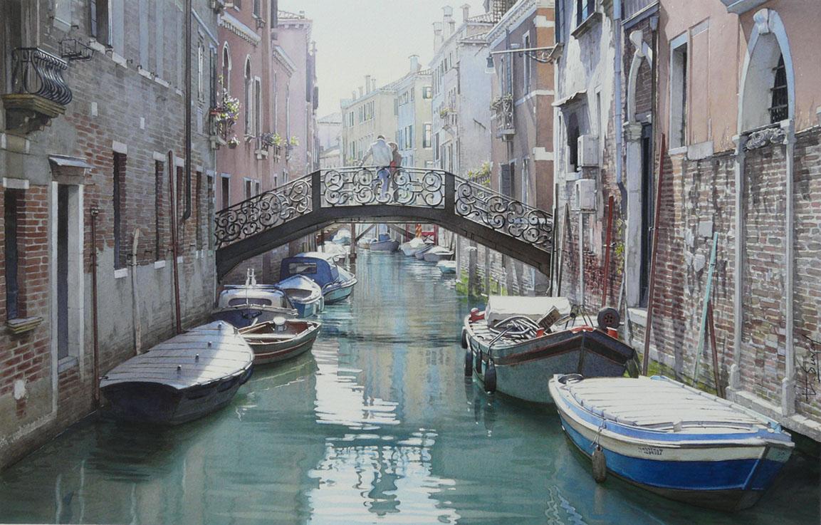 Un pont pour un rendez-vous а Venise