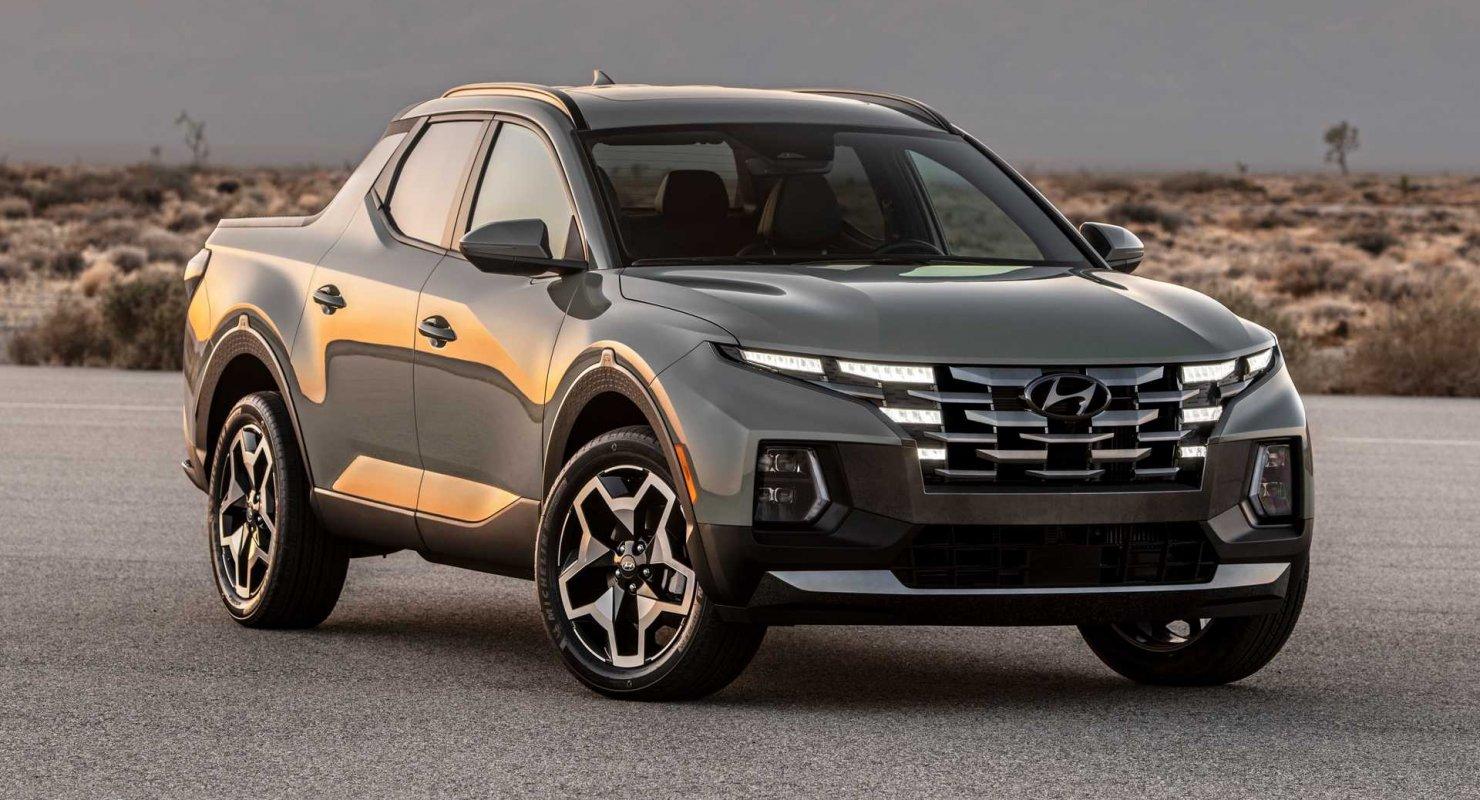 Обновленный пикап Hyundai Santa Cruz получил официальный ценник в США Автомобили