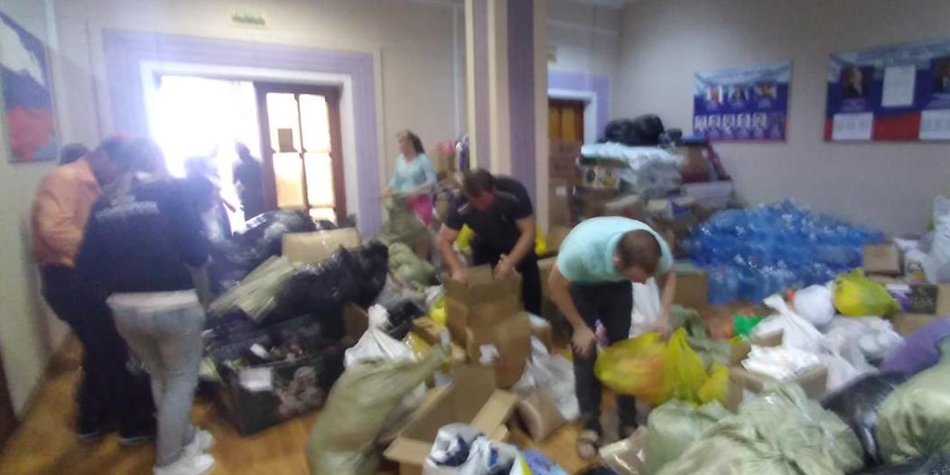 Активистка извинилась за наклейки «Единой России» на гуманитарной помощи для Иркутской области