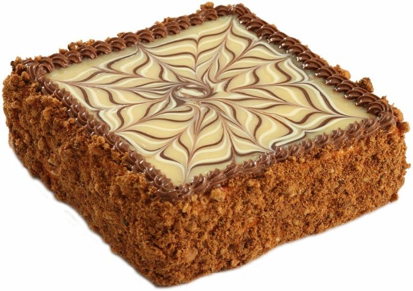 Сливочно-шоколадный торт на сковороде