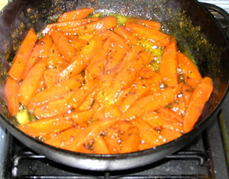 закуска из сырой моркови
