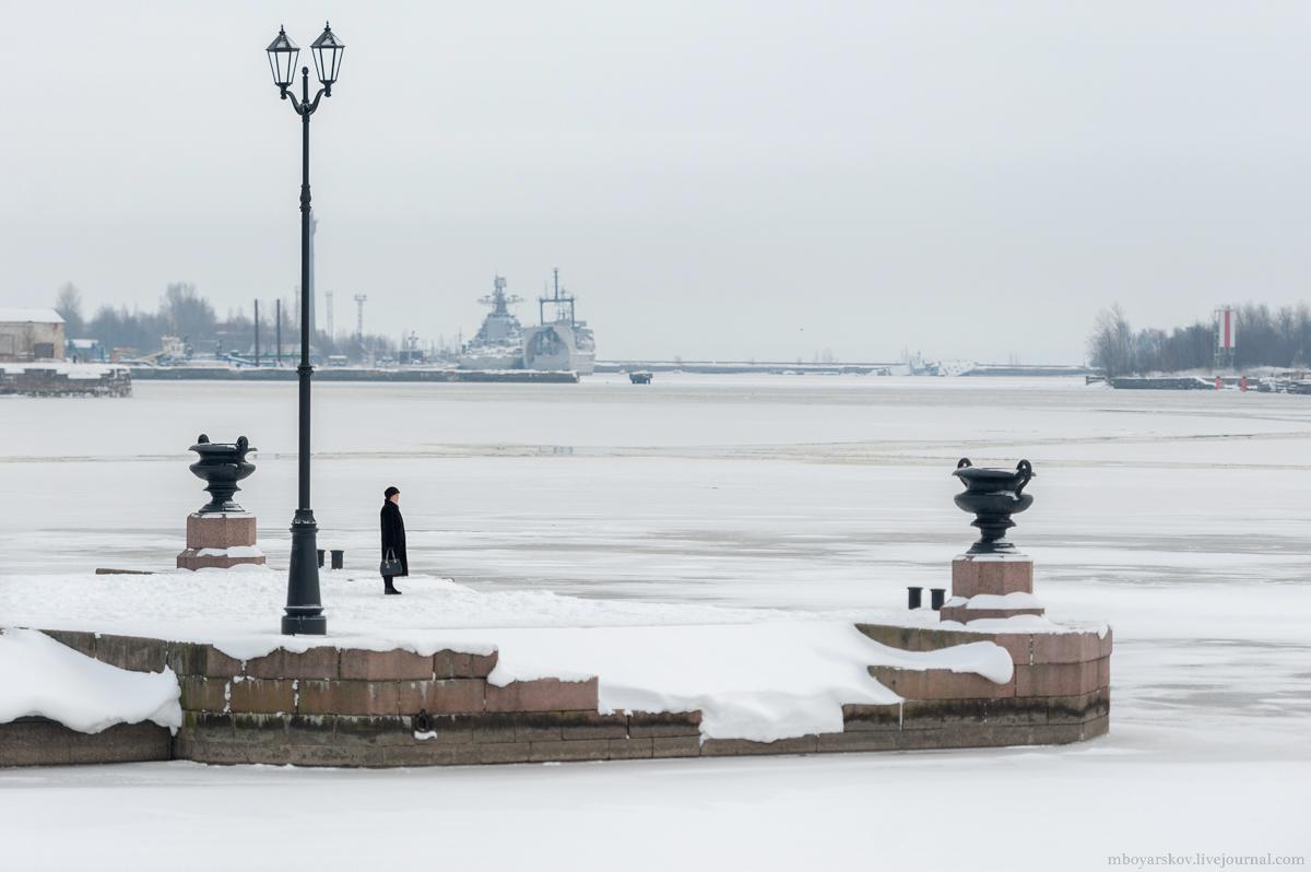Путешествие по  зимнему Кронштадту