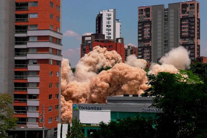 Как сносили дом Пабло Эскобара в Колумбии дом,история,культура,Мексика,пабло эскобар,Пространство,снос домов,теорема эскобара