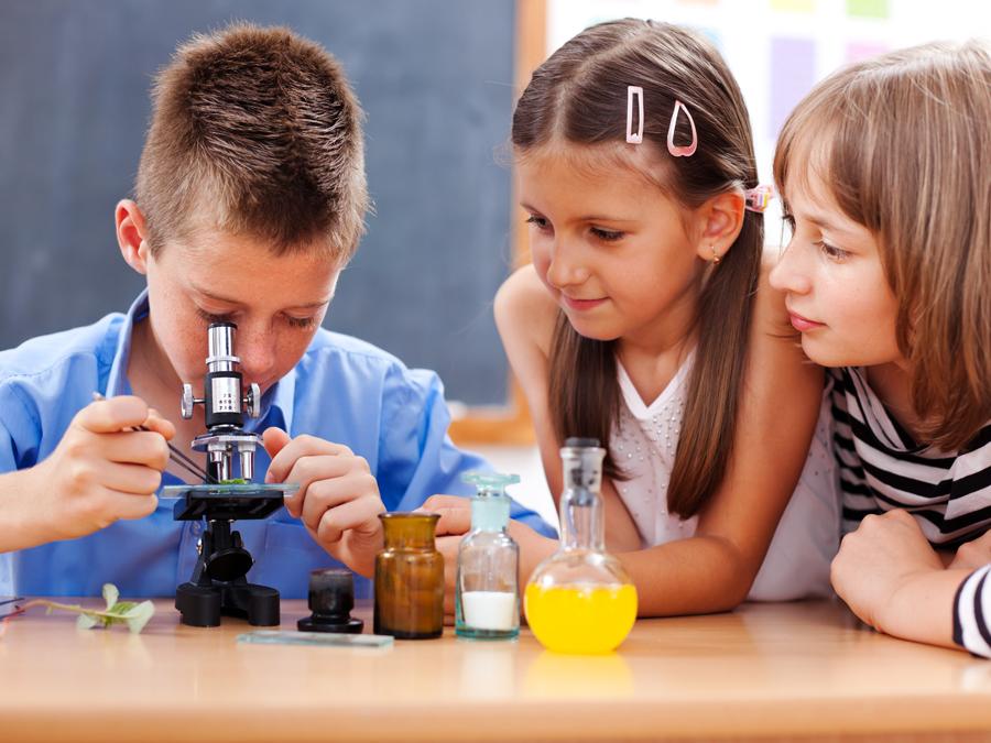 Опыты с микроскопом