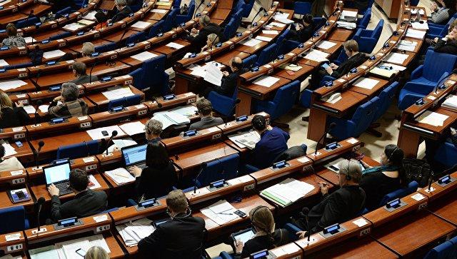 ПАСЕ столкнулась с трудностями из-за отказа России платить часть взноса