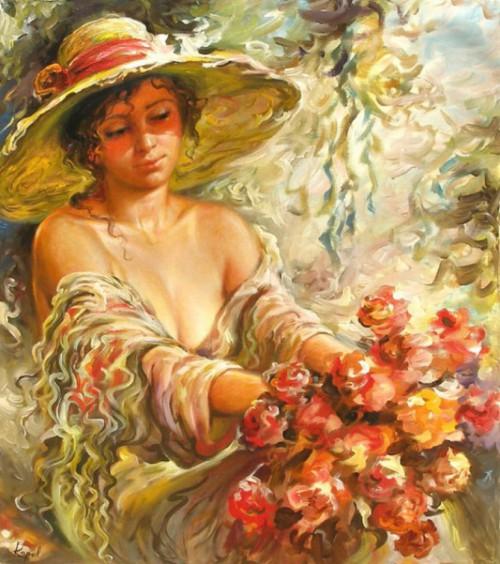 женский образ Аркадий Острицкий - 04
