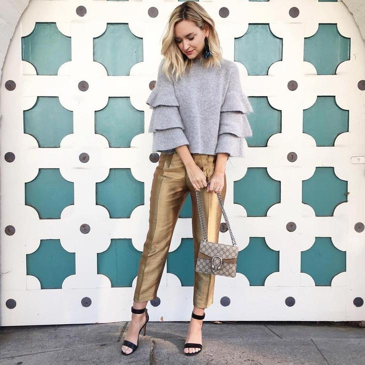 С чем носить свитер этой осенью и зимой: 14 вариантов лучшее, мода