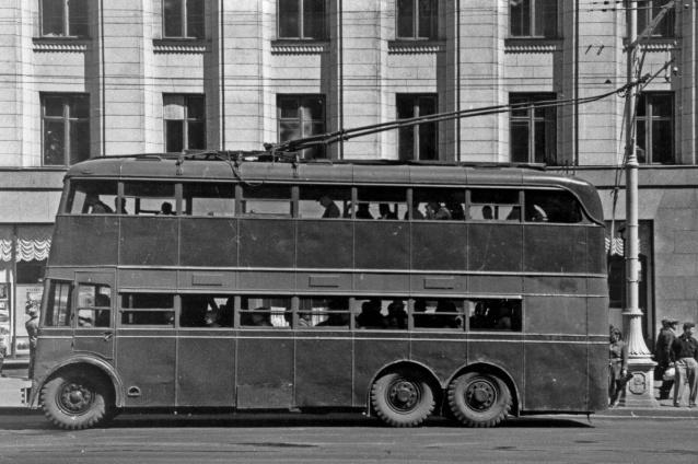 Ярославский двухэтажный троллейбус