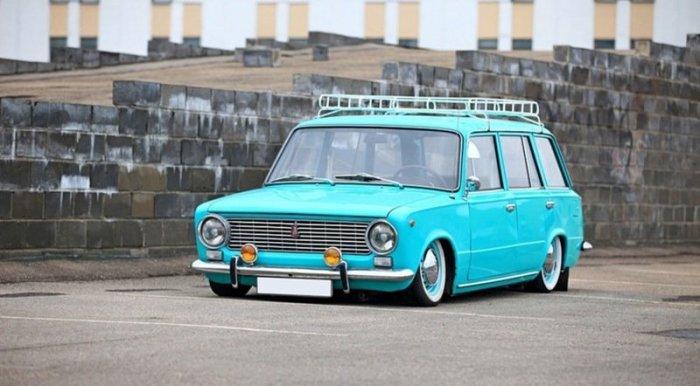 Удивительные превращения: тюнинг советских авто