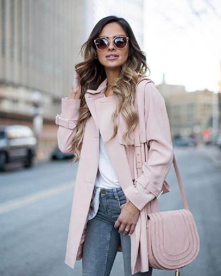 Пудровый цвет в гардеробе женщин 40 лет: как выглядеть на миллион.