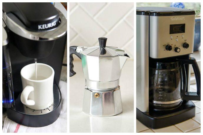 Как быстро отмыть кофеварку