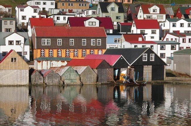 Живописные деревни Фарерских островов