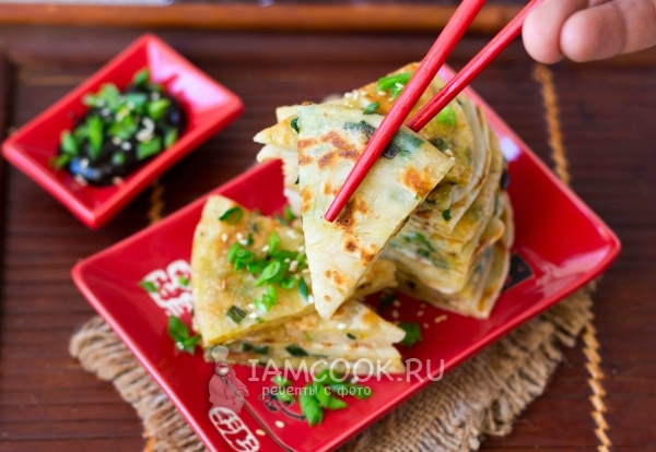 Лепешки на любой вкус. Китайские лепёшки Цун Юбин с приправой Усянмянь