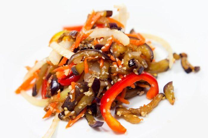 ЗАКУСОЧНЫЙ ДЕНЬ. Баклажаны по-корейски - самые вкусные рецепты