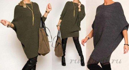 Платье спицами вязание,мода,одежда