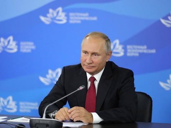 Во Владивостоке Путин обсуди…