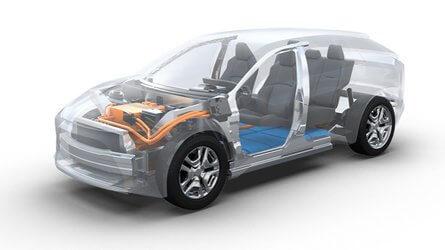 Subaru подготовит электровнедорожник с дальностью действия 500 км к 2021 году  авто,авто и мото,автоновости,автосалон