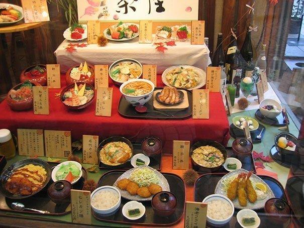 8. Макеты блюд интересно, путешествия, удивительно, япония