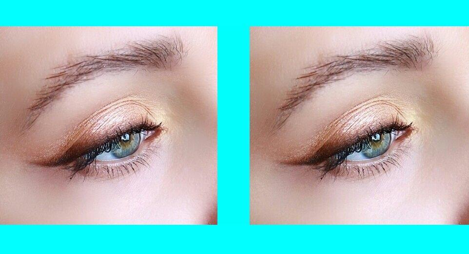 Как просто подкрасить глаза, чтобы не утяжелить взгляд, а придать моложавость: показываю пошагово глаза, чтобы, стрелки, стрелку, уголок, затем, черные, сатиновые, розового, золота, наносим, взгляд, нижней, слегка, Растушевываем, границе, можно, коричневого, подходит, растушевываем