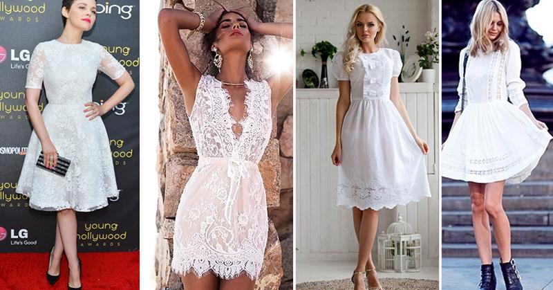 модные платья из шифона