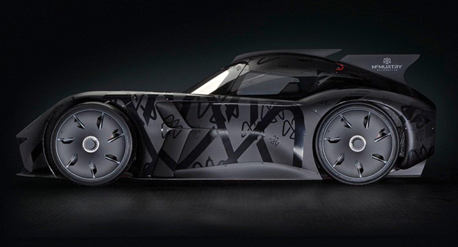 McMurtry Automotive представила одноместный электромобиль с необычными пропорциями Автомобили