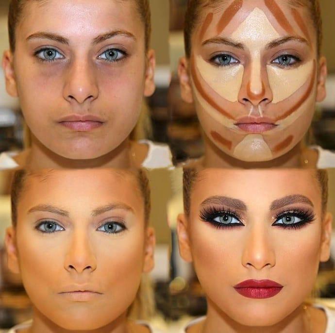 секреты нанесения макияжа с пошаговым фото файлы