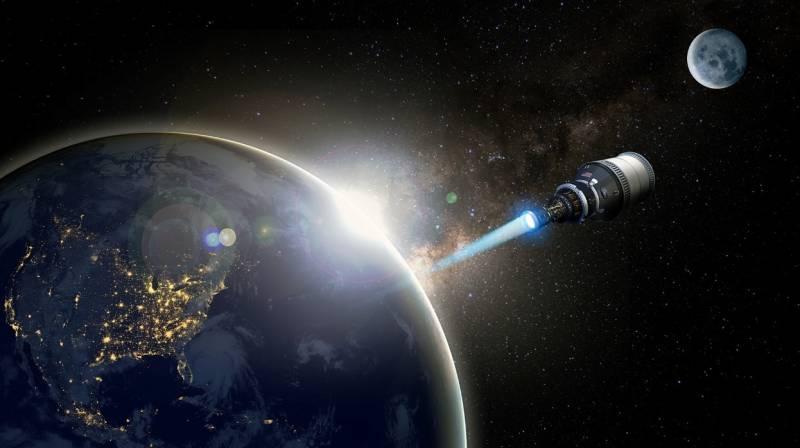 Программа DARPA DRACO создание космического корабля с ядерным двигателем