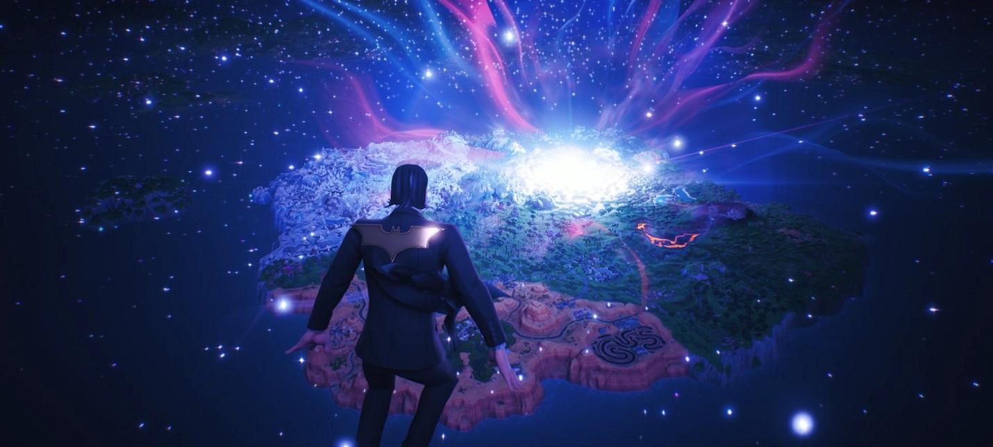 Рождение новой вселенной в синематике Fortnite Chapter 2 action,fortnite chapter 2,pc,ps,xbox,Игровые новости,Игры,обновление