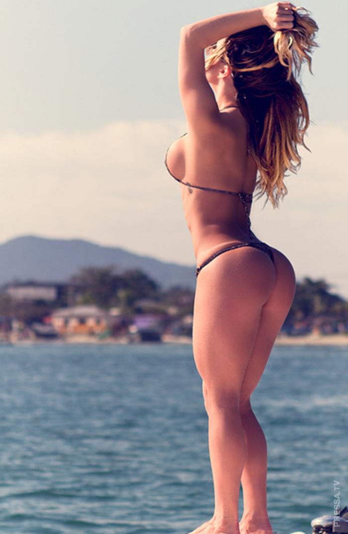 Gentle girls in bikini