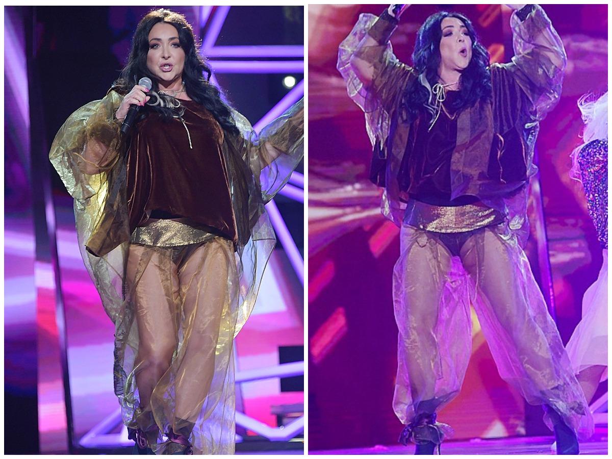 Лолита не отчаивается: певица появилась на сцене в прозрачных шароварах Лолита Милявская,шоу-бизнес