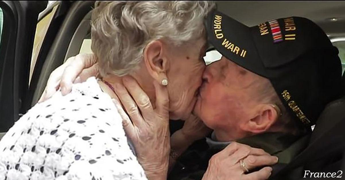 97-летний ветеран воÑÑоединилÑÑ Ñо Ñвоей возлюбленной ÑпуÑÑ'Ñ 75 лет