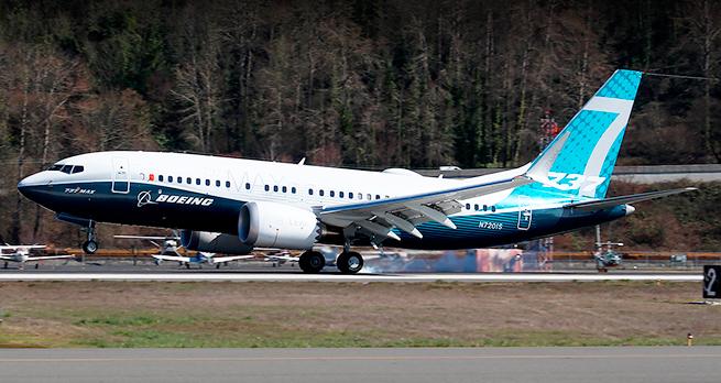 Boeing 737 MAX 7 совершил пе…