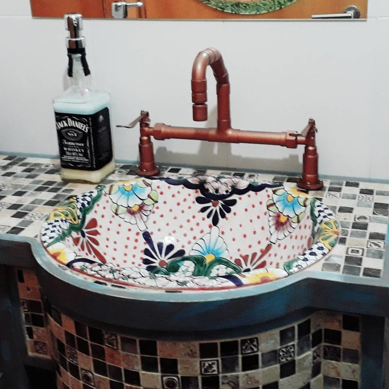 Даже бутылку из-под Джека использовали водопровод, дизайнерские вещи, дизайнерские смесители, краны, сантехника, смесители