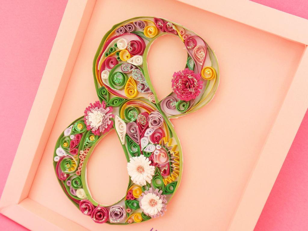Квиллинг: как делаются цветы, открытки и картины в технике бумагокручения  квиллинг,поделки