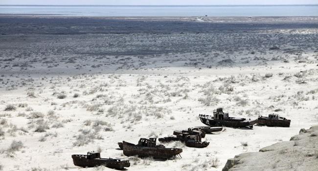 В Казахстане продолжается восстановление Аральского моря