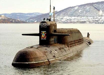 подлодка РФ АПЛ кальмар